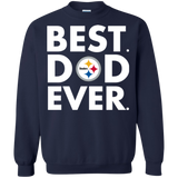 Best Dad Ever Father s Day Pittsburgh Steelers  Hoodies Sweatshirts