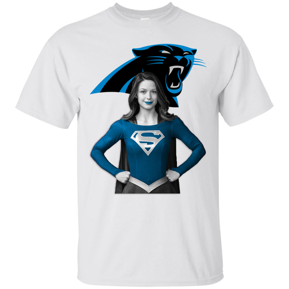 Supergirl Carolina Panthers Hoodies Sweatshirts 4