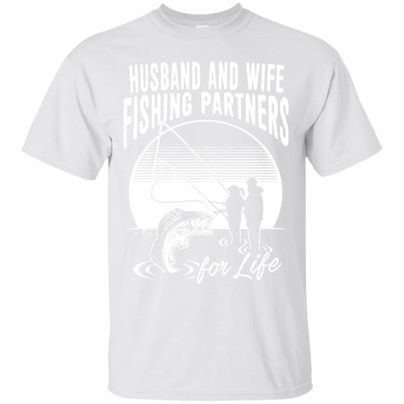 Husband And Wife Fishing Partners For Life T shirts  Hoodies, Sweatshirts
