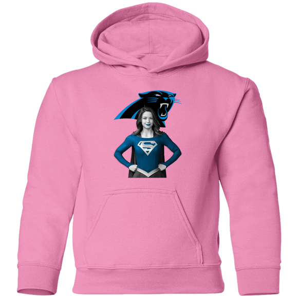 SUPERGIRL CAROLINA PANTHERS HOODIES SWEATSHIRTS TODDLER SIZES