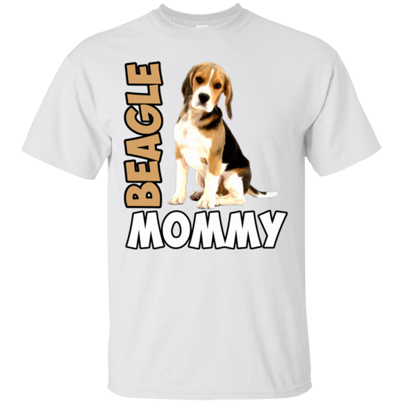 Beagle Woman Shirts Beagle Mommy  Hoodies Sweatshirts
