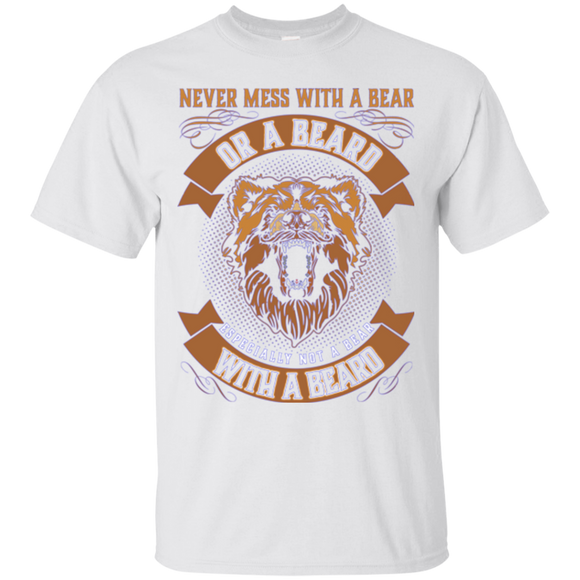 Beard And Bear Never Mess With A Bear Or A Beard Especially Not A Bear With A Beard  Hoodies Sweatshirts