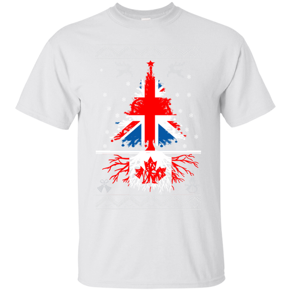 England Christmas Tree With Canada Roots T shirts  Hoodies, Sweatshirts