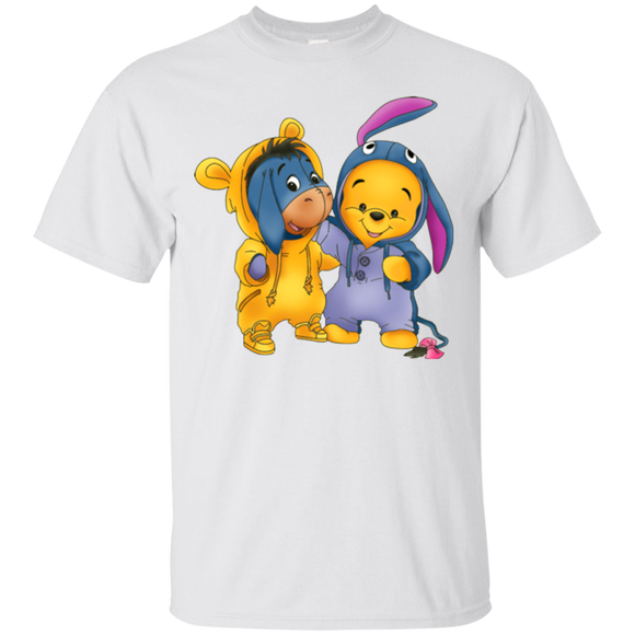 Pooh Bear Eeyore And Bear  Hoodies Sweatshirts