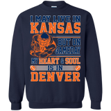 American Football I May Live In Kansas  Hoodies Sweatshirts