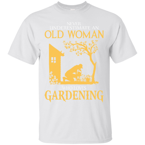 Never Underestimate A Woman Who Loves Gardening T shirts  Hoodies, Sweatshirts