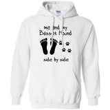 Basset Hound Me And my Basset Hound Side by side  Hoodies Sweatshirts