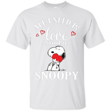 All I Need Is Love And A Snoopy  Hoodies Sweatshirts