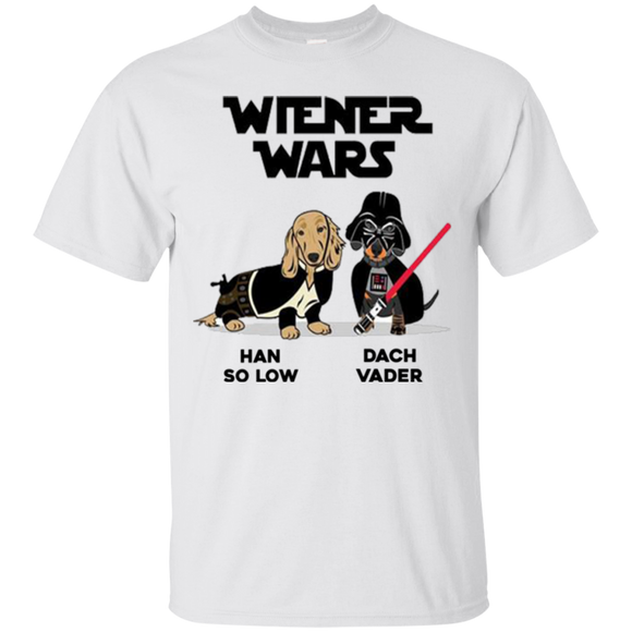 Dachshund Star Wars Shirts Wiener Wars Han So Low Dach Vader  Hoodies Sweatshirts