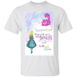 Alice In Wonderland Have I Gone Mad I'm Afraid So, You're Entirely Bonkers. But I'll Tell You A Secret... All The Best People Are.  Hoodies Sweatshirts
