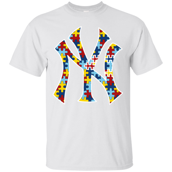New York Yankees Autism Awareness Shirts  Hoodies Sweatshirts