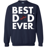 Best Dad Ever Father s Day Saint Francis Red Flash  Hoodies Sweatshirts