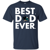 Best Dad Ever Father s Day San Jose Sharks  Hoodies Sweatshirts