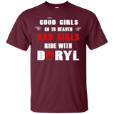 Bad Girls Ride With Daryl The Walking Dead Daryl Dixon Shirts  Hoodies Sweatshirts