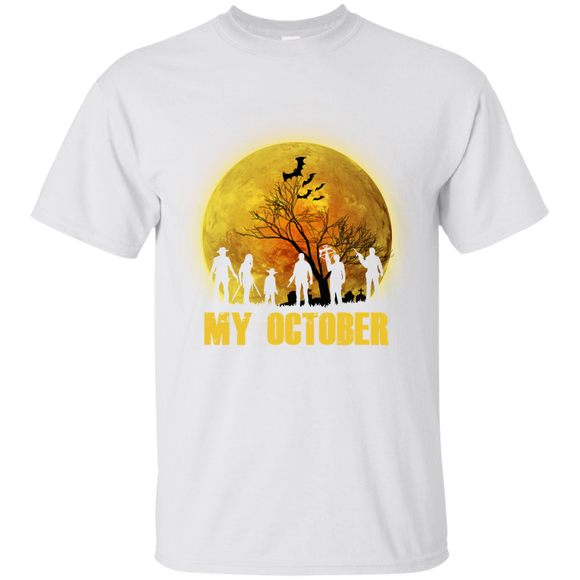 The Walking Dead My October Halloween T shirts  Hoodies, Sweatshirts