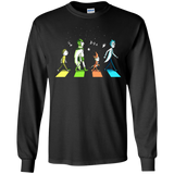 Abbey Road The Beatles Rick And Morty Shirts  Hoodies Sweatshirts