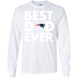 Best Dad Ever Father s Day New England Patriots  Hoodies Sweatshirts