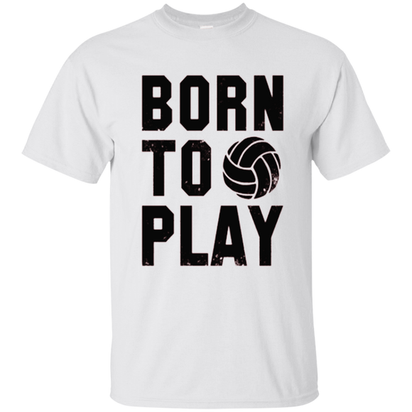 BORN TO PLAY Volleyball T shirts  Hoodies, Sweatshirts