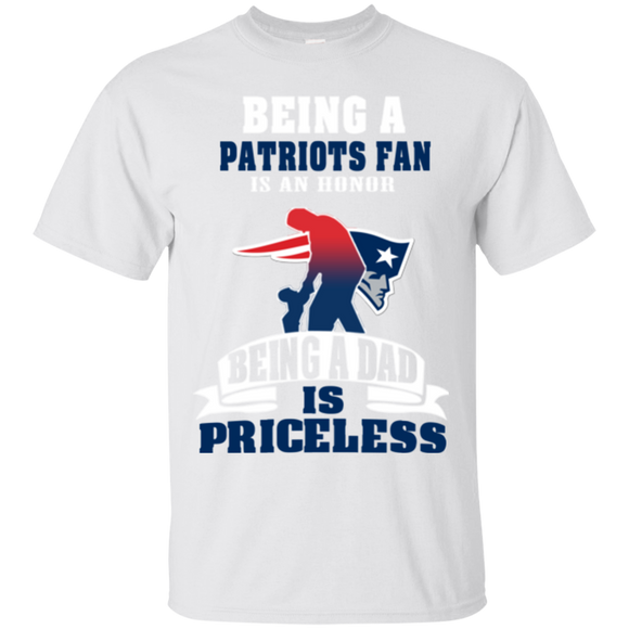 9caba113 ... new style new england patriots dad shirts being patriots fan is honor  being dad is priceless