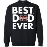 Best Dad Ever Father s Day Mississippi State Bulldogs  Hoodies Sweatshirts