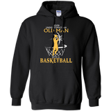 Basketball Never Underestimate An old Man  Hoodies Sweatshirts