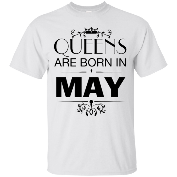 9fc0fc3d0 Birthday Queens Are Born In May Hoodies Sweatshirts