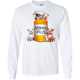 Animal Lover Dogs and Happy Pills  Hoodies Sweatshirts
