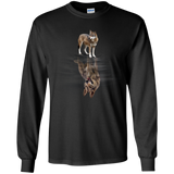 Animal Lover Dog And Wolf  Hoodies Sweatshirts