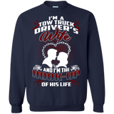 Love I;m A Tow Truck Driver's Wife  Hoodies Sweatshirts