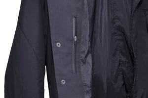 FRONT ZIP TAILORED JACKET