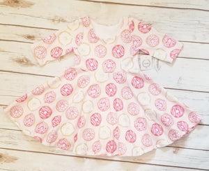 Nuts for Donuts Twirl Dress