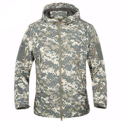Army Camouflage Waterproof Jacket Acu / Xs Jackets