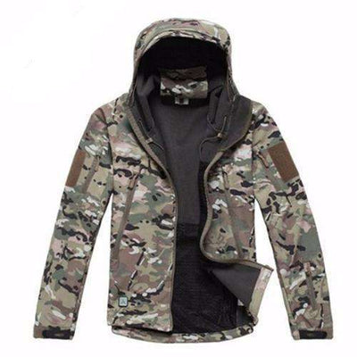 Army Camouflage Waterproof Jacket Cp / Xs Jackets