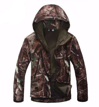 Army Camouflage Waterproof Jacket Leaf Camo / Xs Jackets