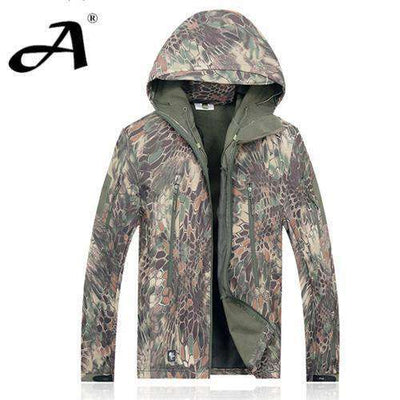 Army Camouflage Waterproof Jacket Mad / Xs Jackets