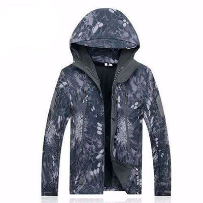 Army Camouflage Waterproof Jacket Typ / Xs Jackets