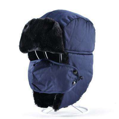 Aviator Snow Bomber Hat Black Hats