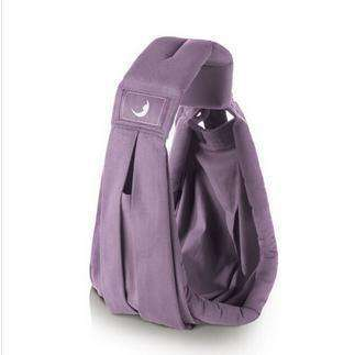 Babasling Carrier Suspender Cotton Breathable Infant Carrier Adjustable Purple