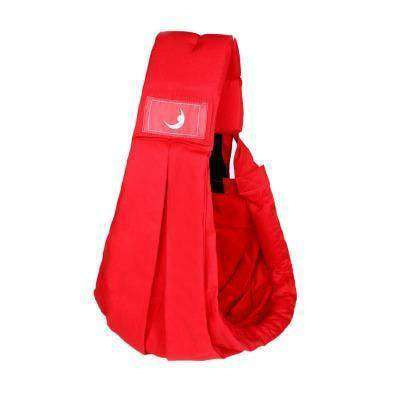 Babasling Carrier Suspender Cotton Breathable Infant Carrier Adjustable Red