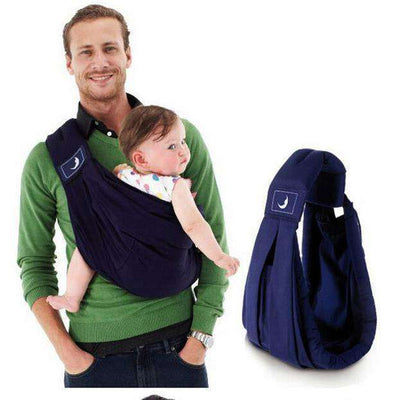 Babasling Carrier Suspender Cotton Breathable Infant Carrier Adjustable