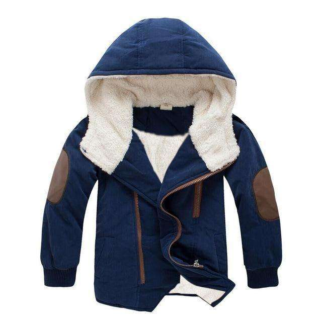 Baby Boycotton-Padded Jacket 3-11Y