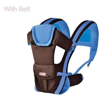 Baby Carrier Multifunctional Front Facing Baby Carrier Blue With Belt / Onesize