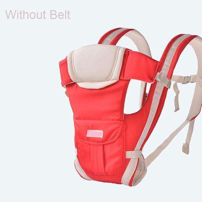 Baby Carrier Multifunctional Front Facing Baby Carrier Red Without Belt / Onesize
