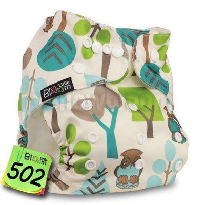 Baby Washable Reusable Real Cloth Pocket Nappy 502 / Onesize No Insert