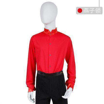 Ballroom Dance Tops As Picture 1 / M Dance Wear