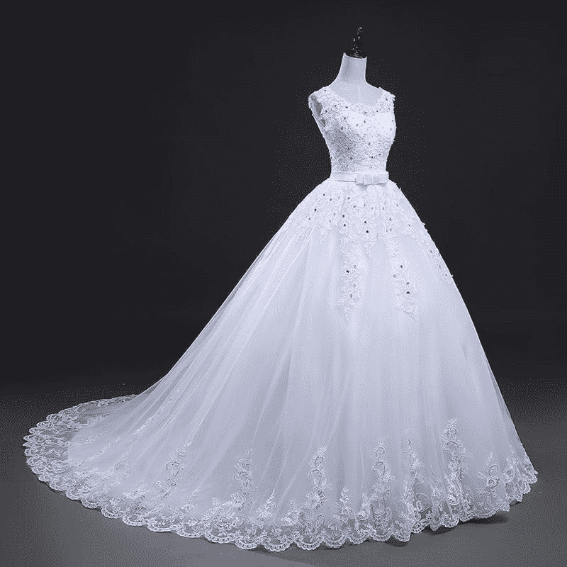 Bow Princess Wedding Dress Wedding Dresses