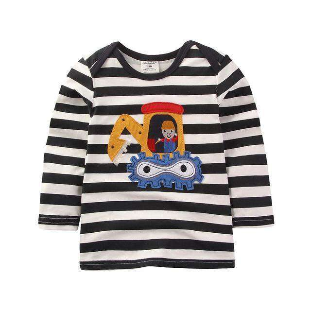 Boys T Shirt Long Sleeve