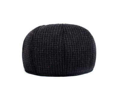 British Retro Men Woolen Flat Cap Berets