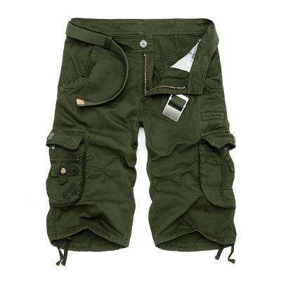 Camouflage Cargo Shorts Army Green / 29 M.shorts