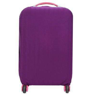 Candy Color Luggage Cover For 20-28 Inch Suitcase Dustproof Green / L